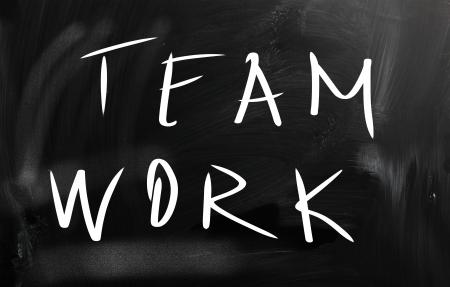 combined effort: Teamwork