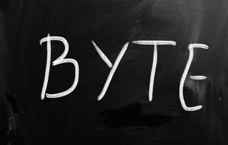 byte: byte