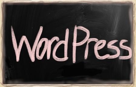 social media concept - text on a blackboard. Stock Photo - 20166689