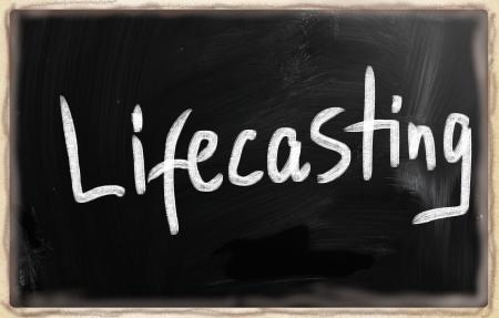 social media concept - text on a blackboard. Stock Photo - 20166637