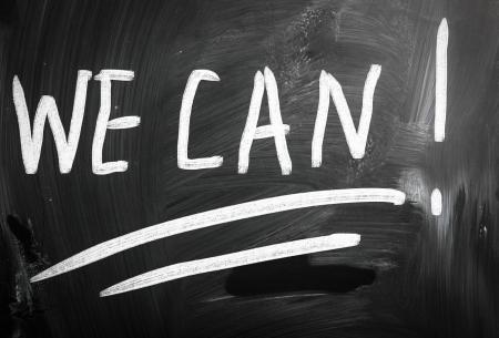 yes we can written on blackboard photo