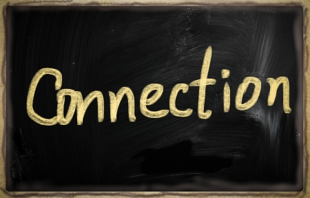 social media concept - text on a blackboard. Stock Photo - 20825959