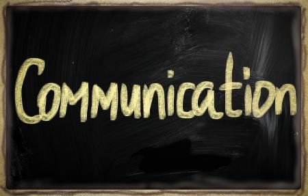 social media concept - text on a blackboard. Stock Photo - 20825993