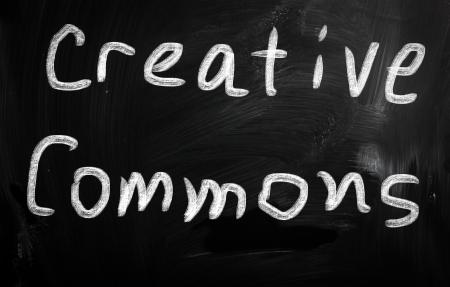 social media concept - text on a blackboard. Stock Photo - 20826098