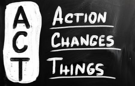 plan de accion: Cambios de acci�n Actividades