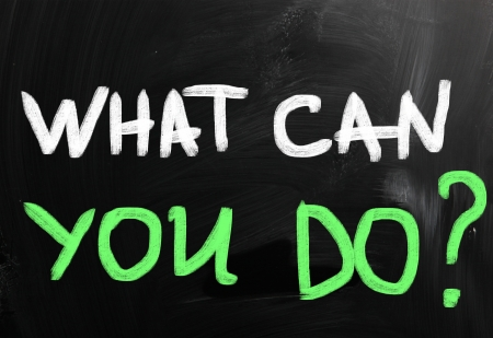 What can you do? Stock Photo