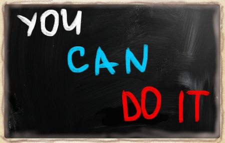 You can do it! photo