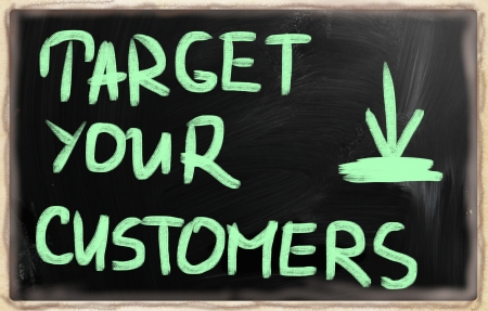 Target your customers. Stock Photo - 21084981