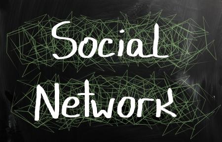 Social media concept.  photo