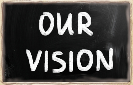 Concept of vision. photo