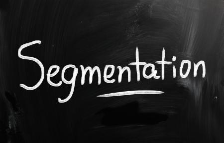 marketing concept handwritten with chalk on a blackboard Stock Photo - 21174865