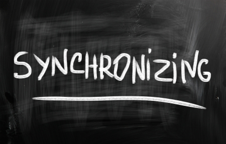 data synchronization: cloud computing concept
