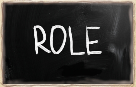 business roles: leadership concept