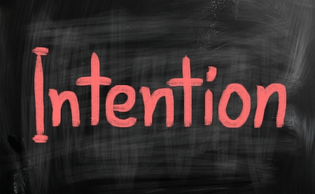 intent: Positive Thinking Concept