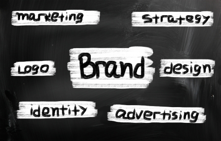 Branding word Stock Photo - 21578269