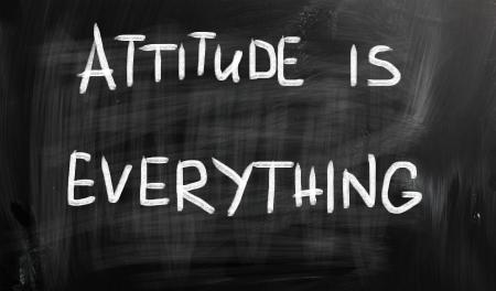 actitud positiva: La actitud lo es todo