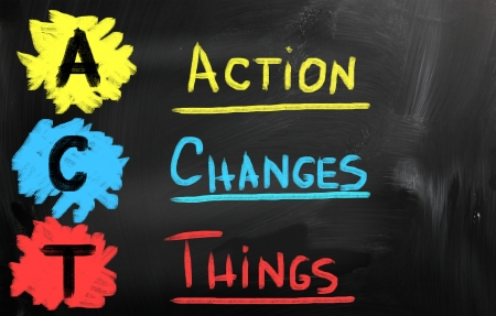 activism: Action Changes Things