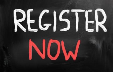 register: Register now
