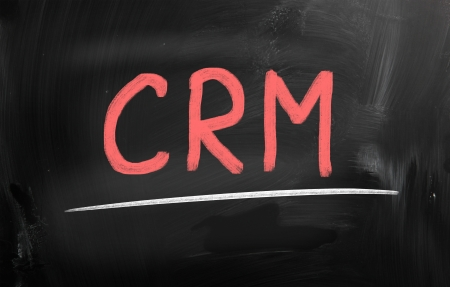 customer relationship management (CRM) concept photo