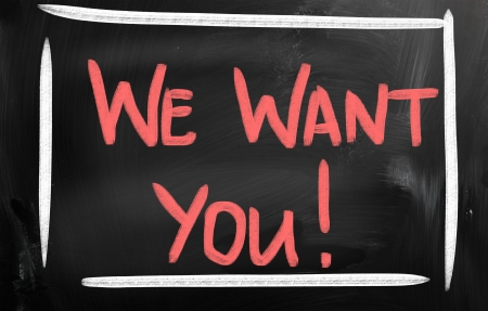 we want you! photo