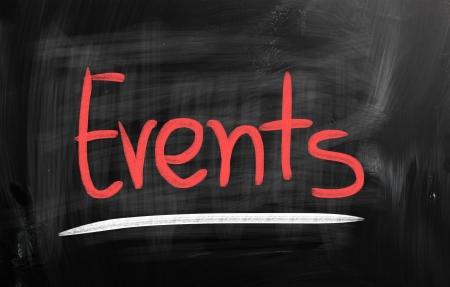 event icon: Events Stock Photo