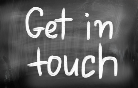 Get in touch Stock Photo