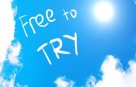 freebie: Free to try