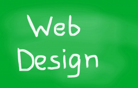 Web design concept Stock Photo - 22418109
