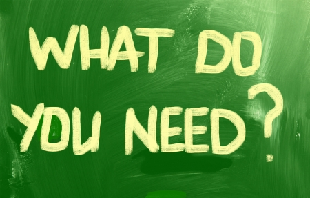 What Do You Need? photo
