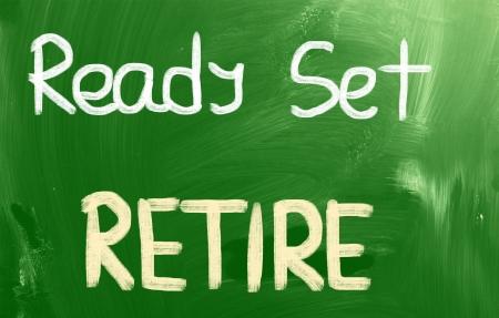 Ready Set Retire Concept Stock Photo - 22607483