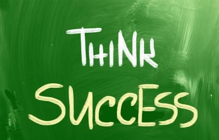Think Success Concept photo