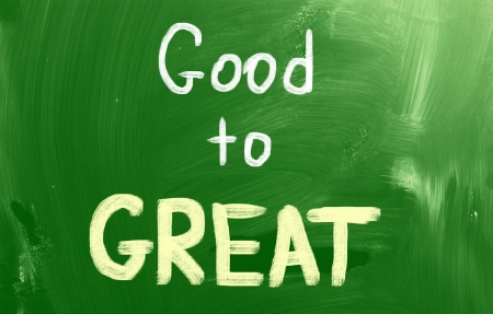 hopeful: Good To Great Concept