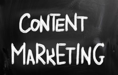 Content Marketing Concept Stock Photo - 22607544