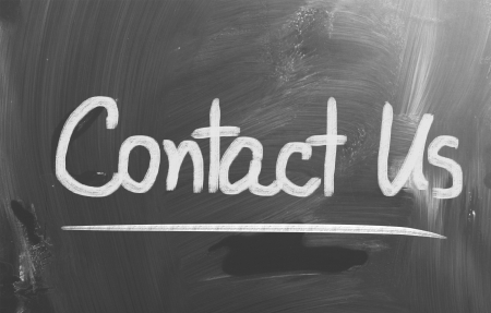 reply: Contact Us Concept