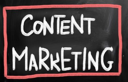 backlink: Content Marketing Concept