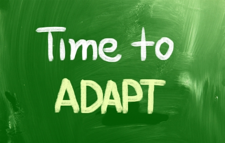 adapt: Time To Adapt Concept
