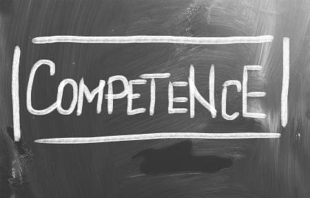 Competence Concept Stock fotó