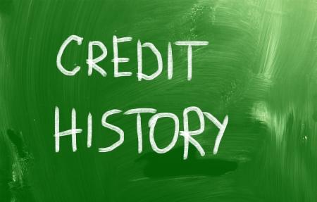 credit report: Credit History Concept