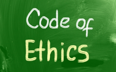 Code Of Ethics Concept photo