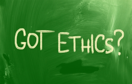 rightful: Code Of Ethics Concept