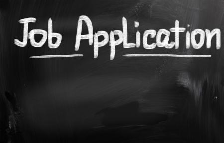 Job Application Concept photo