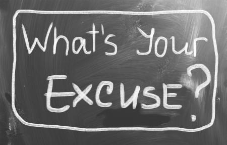excuser: Quel est le concept de votre Excuse