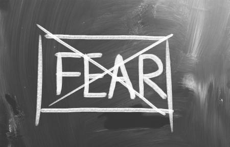 No Fear Concept Imagens