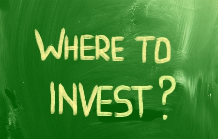 Where To Invest Concept Stock Photo - 23049886