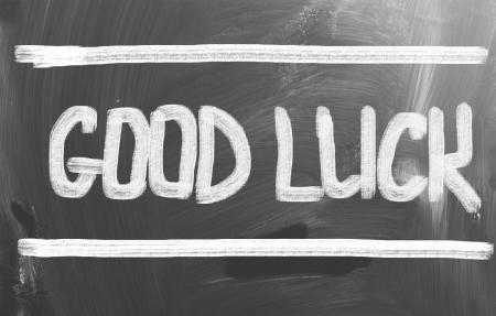 buena suerte: Buen concepto Luck Foto de archivo