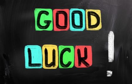 abschied: Good Luck Konzept