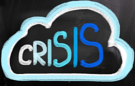 economic recovery: Crisis Concept