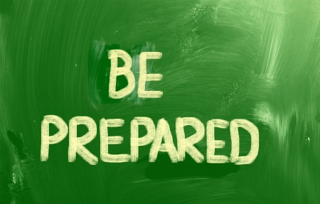 be: Be Prepared Concept