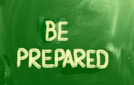 bollard: Be Prepared Concept
