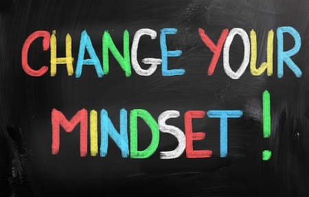 Change Your Mindset Concept Stock Photo